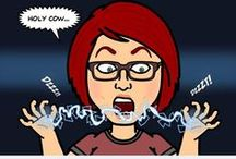 My Bitstrips / Avatars of Me and my husband Craig / by Misty Swartz