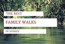 Sydney Family Walks / Sydney's most family-friendly walks. Most are suitable for parents with prams and strollers. Great ideas to get all the family out into the fresh air.