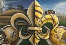 Game day / SAINTS/LSU Game day goodies and such  / by Misty Swartz