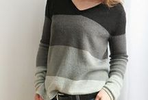 Knitting Sweaters / Knitting patterns for sweaters and cardigans. / by Kelly Kinkaid
