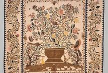Applique, Antique and Broiderie Perse / A mix of Antique quilts, and some with Applique,  and Broiderie Perse.
