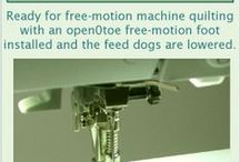 Sew Machine and Equipment / Helpful tips and information on maintaining your sewing machine.