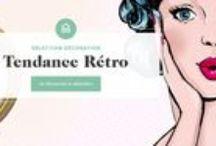 Déco : rétro - vintage / Vous avez adoré la série Mad Men ? Vous aimerez forcément le style #rétro ! Les années 50 sont une source infinie d'inspiration pour les designers. Les particularités de cette époque : des meubles aux lignes droites et simples et des matériaux chaleureux. Du salon en passant par la cuisine, il y a toujours un petit objet style #vintage qui devrait vous plaire ! #vintage #déco