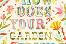 How does your garden grow.... / My self sustainable garden......veggies and herbs and potted plants