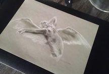 Drawings, Angels, Tina Steele Lindsey / Tina Steele Lindsey, Angels, Angel Drawings, Angel Paintings