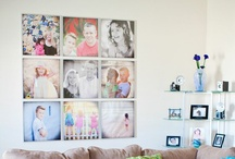 picture walls / frames