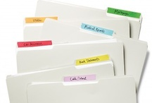 DIY - Getting Organized / Fun, inexpensive ways to corral the clutter / by Cindy Pestka