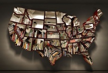 Book Art & Bookshelves / Altered books and alternative ways to store them