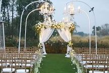 {illuminating ideas!} / A collection of weddings & events where they celebrated the importance of lighting to enhance any soiree!
