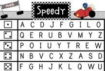 DIBELS / #dibels, #lnf, #fsf, #letter #naming #fluency, #first #sound #fluency / by The Kinder Cupboard