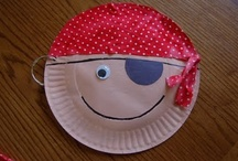 Aargh Matey! / #pirate, #ship, #plank, #ocean / by The Kinder Cupboard