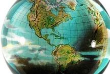 Globes & Maps / No ordinary globes here! / by Cindy Pestka