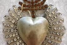 Santos, Milagros, Nichos & Madonnas / Santos, nichos, ex votos, milagros, reliquaries, sacred hearts, madonnas / by Cindy Pestka