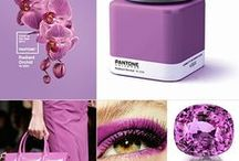 +Pantone colour of the year 2014+ / Radiant Orchid
