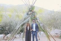 {boho palm springs} / Boho Wedding Inspiration in Palm Springs, CA