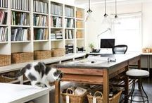 {wo}man Cave / Every girl needs her personal space: my craft room, office, closet, book nook dream room