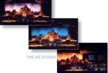 {the studio: it's a production!} / some highlights from past corporate projects. . .