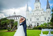 Jackson Square NOLA / A fun public location to hold your city-scape ceremony in French Quarter, New Orleans.