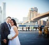 Brooklyn Bridge Park / What's more romantic than the backdrop of New York City behind you for your big day?