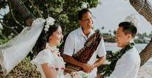 Kukio Beach, Big Island / Kukio Beach is a great spot on the Big Island for your intimate elopement!