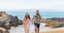 Makena Cove, Maui / Makena Cove is one of our absolute favorite spots for elopement ceremonies on Maui.