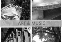 """Art, Music, Inspiration: Muse Much / I grew up with hippie artists and poets. So what if they ended up being """"the man"""". Art and especially architecture inspire me. I'll drive my husband crazy by pointing out cute colonials and Gothic influences."""
