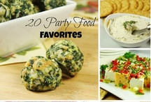 Party Platters & Appetizer Ideas / by Christina
