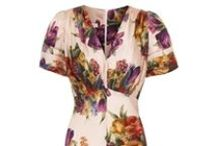 Silk Tea Dresses / Luxury tea dresses printed in Italy and made in Great Britain...beautiful for any event / by Suzannah
