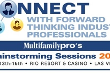 Multifamilypro's Brainstorming Sessions  / This board has been created for all Multifamily Brainstormers! / by Tami Siewruk