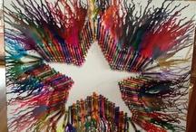 Crayon Art / by Linda Watkins