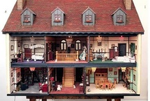 Doll Houses Interiors / by Carol Hertzke