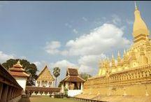 Laos / #UNESCO site and #temples in #Vientiane, #Laos.