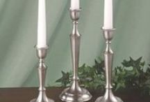 Taper Candle Holders / These taper candle holders will add a classic decorating touch and bring inviting ambiance into the home.