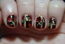 Christmas & New Years NAiLs & DIY NaiLs / Pretty Christmas nails