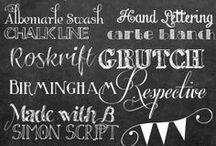 Fonts Fonts Fonts - I´m a Font Addict! / Fonts, Designs and Inspiration