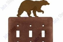 Wildlife Switch Plates & Outlet Covers / Add stylish beauty to the walls in your living space and bring a decorative wildlife flair to your current decor with these metal switch plates and outlet covers.