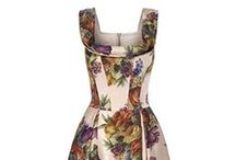 Lucille Fifties Floral Dress / SUZANNAH Lucille fifties floral dress