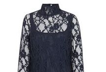 Lace Polo Neck Blouse / www.suzannah.com