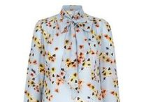 Silk Pussy Bow Blouse Powder Pansy Pink / Beautiful Italian silk crepe de chine blouse with a charming vintage inspired quirky print which has been exclusively designed for the Suzannah collection.  A fun, beautiful and versatile blouse can be worn tucked into a statement skirt like our Kaleidoscope skirt or paired with jeans or casual trousers for a cool, relaxed look..x