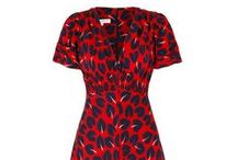 Vintage 30s Adore Hearts Silk Tea Dress / Based on our 1930's silk tea dress cut which is our best selling signature tea dress style because of its flattering nature, unique charm and versatility..x  www.suzannah.com
