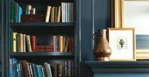 WHERE [library] / Cozy reading corners, lush libraries, and bold built-ins.