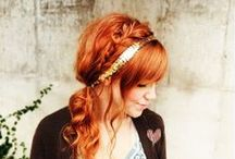 hair / I can only aspire to do my hair like this...but it's fun collecting ideas.