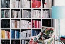 IKEA Kallax (Expedit) Bookshelf / I love the countless ingenius ways that people use the Kallax / Expedit bookshelf!