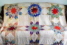 Vintage and traditional quilts / these quilts are old or traditional, but very beautifully done.