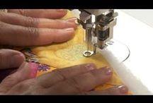 Machine quilting your Quilt top / Machine quilting