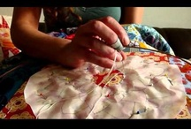 Hand quilting your Quilt Top