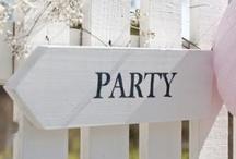 Bijzondere feestjes / Leuke en vrolijke ideeen voor een gezellig en sfeervol feestje of etentje. / by Wis en Waarachtig