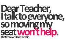 The teacher in me... / by Becca Brunton