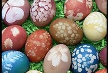 Easter / Colour, decor inspiration, and activities