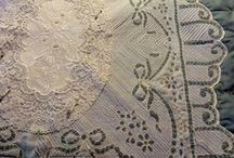 Doilies and Lace - Quilts etc. / old lace, new lace, lace on quilts